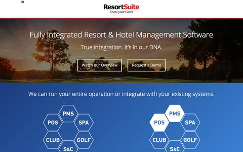 ResortSuite | Know your Guest