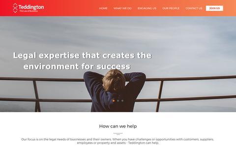Teddington Legal | Business Advice Sydney, Business Lawyers Sydney, Teddington Legal Services