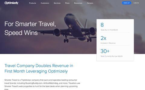 Smarter Travel Doubles Revenue with Optimization