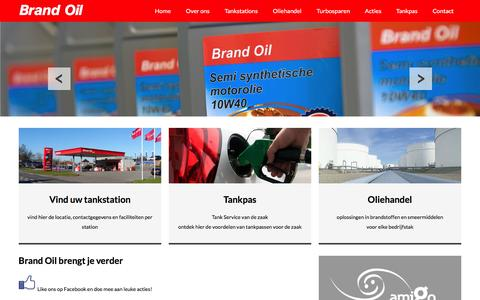 Screenshot of Home Page brandoil.nl - Brand Oil | zelfstandige merk voor tankstations en oliehandel - captured Jan. 7, 2016