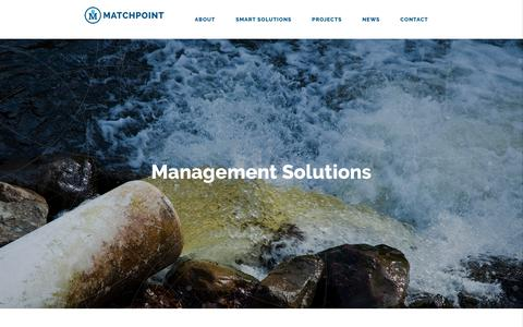 Screenshot of Contact Page matchpointinc.us - Contact Matchpoint - Water Management Specialists - captured Oct. 17, 2017