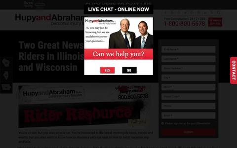 Screenshot of Signup Page hupy.com - Subscribe to Hupy and Abraham News! | Hupy and Abraham, S.C. - captured Nov. 13, 2016