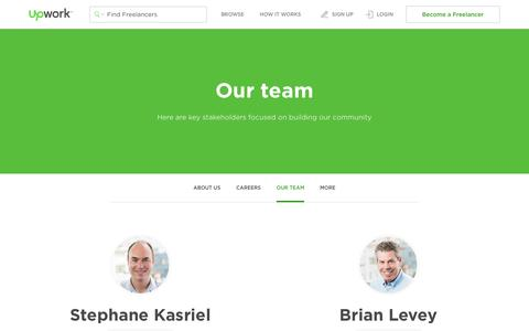 Our Team - Upwork