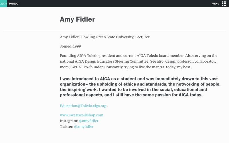 Amy Fidler | AIGA Toledo