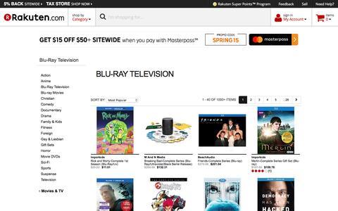 Blu-Ray Television - Rakuten.com
