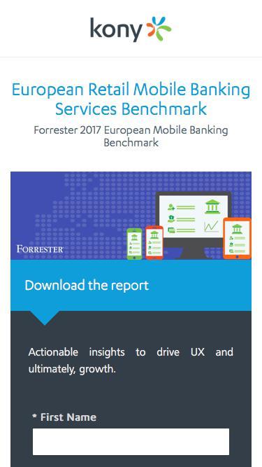 Kony   European Retail Mobile Banking Services Benchmark