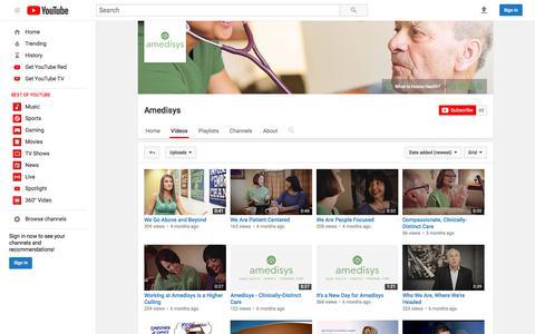 Amedisys  - YouTube