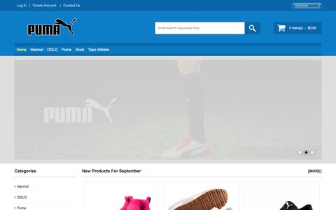 Screenshot of Home Page pulsehometech.com - Puma Outlet Online Canada - Find The Cheapest Price & Marmot Outlet Store - captured Sept. 5, 2017