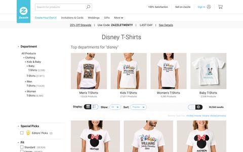 Disney T-Shirts & Shirts | Zazzle