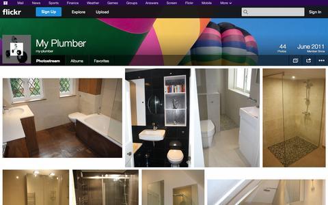 Screenshot of Flickr Page flickr.com - Flickr: my-plumber's Photostream - captured Oct. 26, 2014