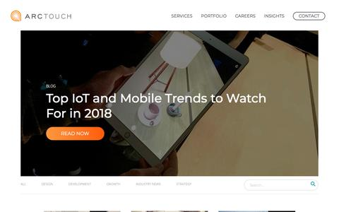 ArcTouch Mobile App Development Blog | Mobile, IoT, Technology Trends