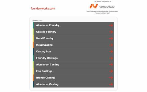 Screenshot of Home Page founderyworks.com - founderyworks.com - captured Aug. 17, 2018