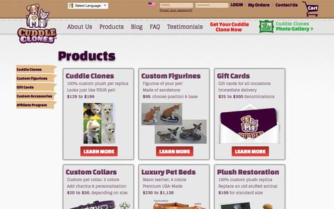 Cuddle Clones Products