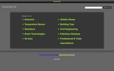 Screenshot of Home Page smartec.la - Smartec.la - captured Jan. 12, 2018