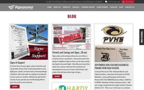 Blog | Signarama Colorado