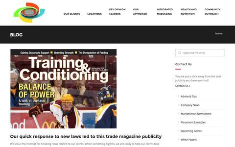 Screenshot of Blog publicity.com - Blog - Media Relations, Inc.Media Relations, Inc. | Pay Per Interview Publicity - captured Nov. 1, 2014