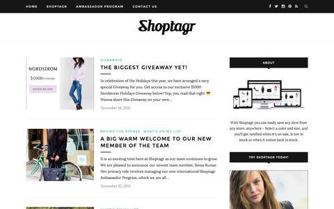 Shoptagr Blog