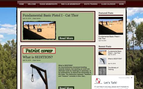 Screenshot of Blog shotsranch.com - Shots Ranch | Blog - captured Nov. 29, 2016