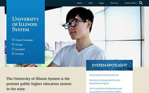 Home - University of Illinois System