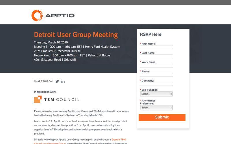 Detroit User Group Meeting