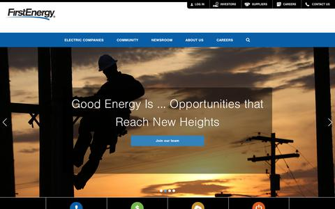 FirstEnergy Corp. Home