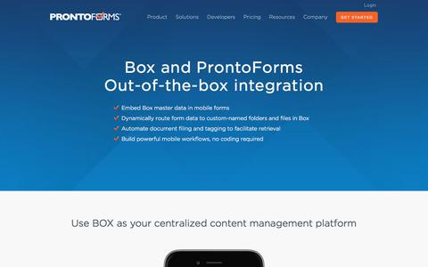 Digital Forms Portal | Mobile Dispatch App | ProntoForms