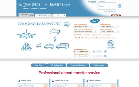 Screenshot of About Page transfers-in-europe.com - About Us | Transfers-in-Europe.com - captured Dec. 11, 2016