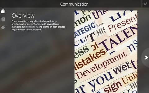 Screenshot of Case Studies Page foliotek.com - Communication - Foliotek Projects - captured Jan. 8, 2020