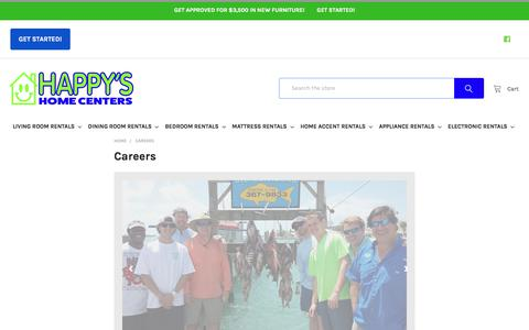 Screenshot of Jobs Page happysnation.com - Careers - captured Sept. 10, 2018