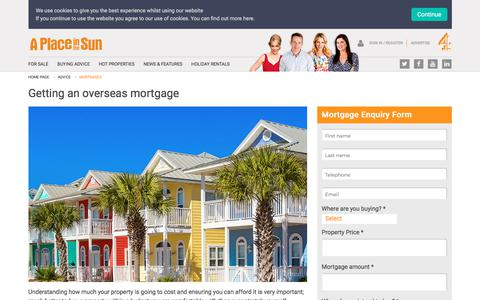 Mortgage Advice for Buying Property Abroad