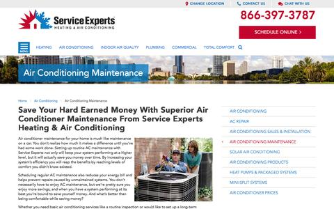 your city AC Maintenance | Service Experts