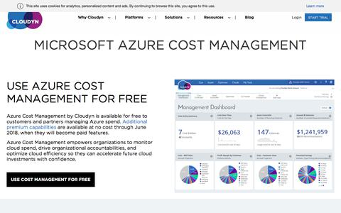 Cloudyn: Cloud Management Platform & Cloud Cost Optimization Tool