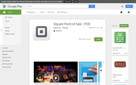 Square Point of Sale - POS - Apps on Google Play
