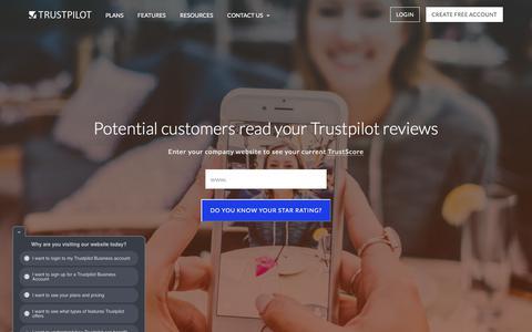 Customer Reviews For SEO, Marketing & Sales | Trustpilot Business
