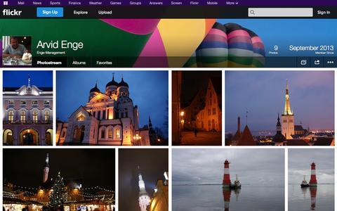 Screenshot of Flickr Page flickr.com - Flickr: Enge-Management's Photostream - captured Oct. 22, 2014
