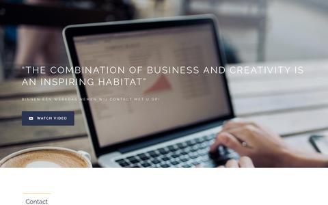 Screenshot of Contact Page portex.nl - Business and Creativity | Contact - Portex Verpakkingen B.V. - captured Sept. 28, 2018