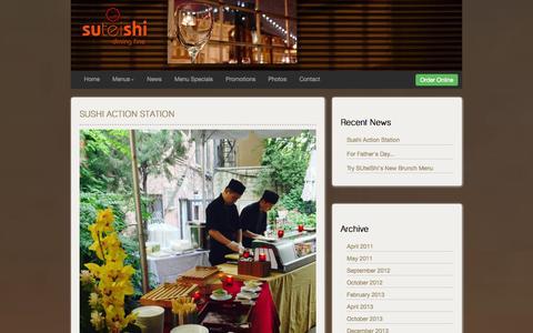 Screenshot of Press Page suteishi.com - News | Suteishi - captured Oct. 3, 2014