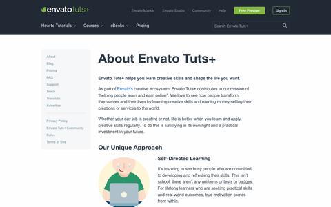 About Envato Tuts+