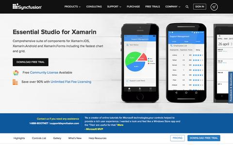 Introducing Essential Studio for Xamarin : Feature-rich data visualization and file format components