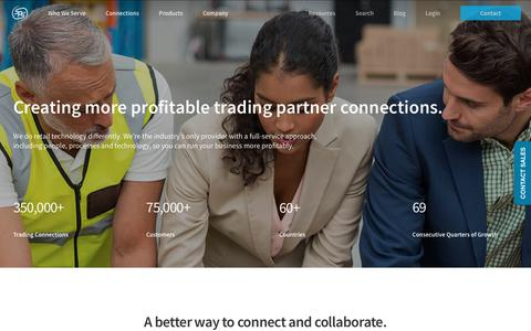 Screenshot of About Page spscommerce.com - About SPS Commerce | EDI Provider | Vendor Onboarding | Supply Chain - captured July 6, 2018