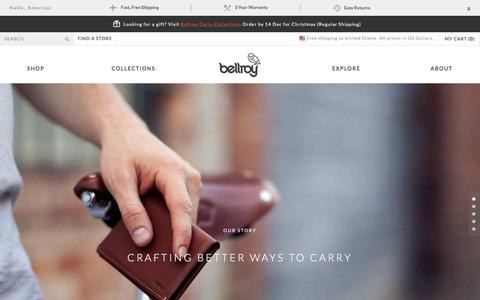 Slim Leather Wallets by Bellroy
