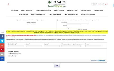 IE Herbalife Ireland | Herbal life Diet | Work from Home Business Opportunity