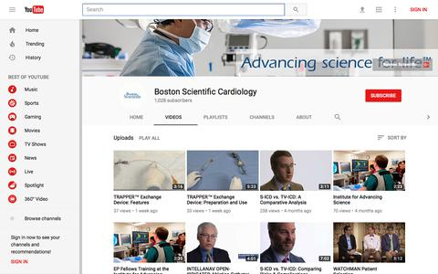 Boston Scientific Cardiology - YouTube