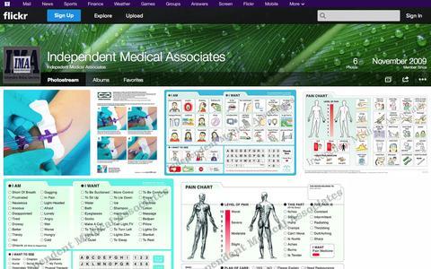 Screenshot of Flickr Page flickr.com - Flickr: Indepedent Medical Associates' Photostream - captured Oct. 23, 2014