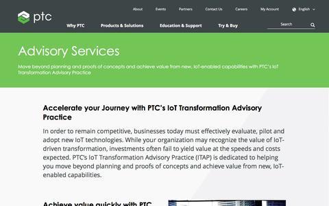 Advisory Services | PTC