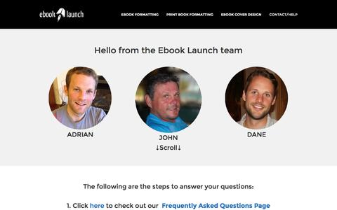 CONTACT/HELP | Ebook Launch – Ebook Formatting and Cover Design