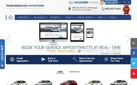 Mississauga Hyundai Dealership| Canada's #1 Volume Retailer