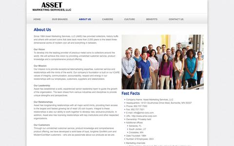 About Us | Asset Marketing Services, LLC