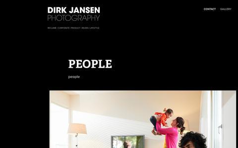 Screenshot of Team Page dirkjansen.nl - Dirk Jansen - PEOPLE - captured Oct. 9, 2018