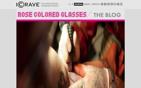 Screenshot of Blog icrave.com - Interior Design & Space Design Blog | ICRAVE - captured Feb. 3, 2016